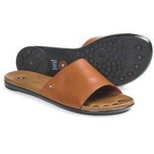 Juil Bali Leather Sandals (For Women) in Orange - Closeouts