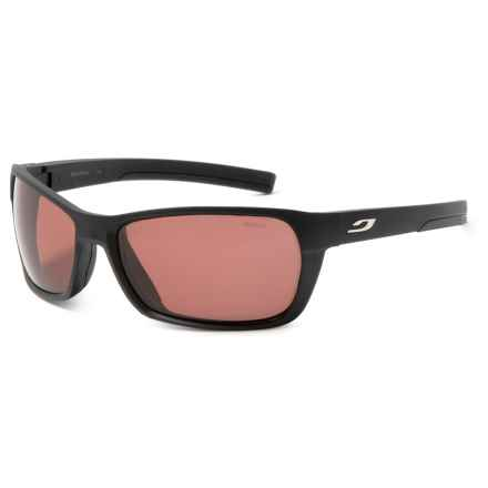 Julbo Blast High-Performance Sunglasses - Polarized, Photochromic in Matte Black/Rose - Closeouts