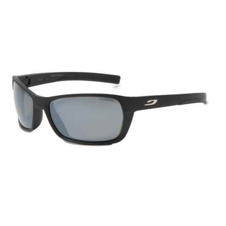 Julbo Blast Sunglasses - Polarized 3+ Lenses in Matte Black/Black - Overstock
