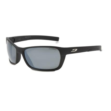 Julbo Blast Sunglasses - Polarized 3+ Lenses in Matte Black/Black