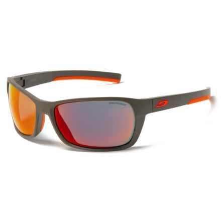 Julbo Blast Sunglasses - Spectron 3 Lenses in Army/Orange/Rouge - Closeouts