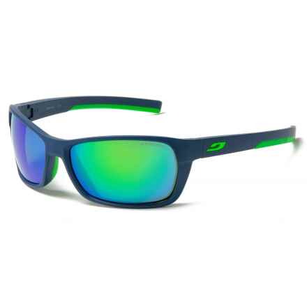 Julbo Blast Sunglasses - Spectron 3 Lenses in Blue/Vert - Closeouts