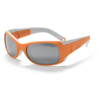 Julbo Booba Sunglasses - Spectron 4 Lenses (For Kids and Youth) in Orange/Grey/Spectron 4
