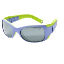 Julbo Booba Sunglasses - Spectron 4 Lenses (For Kids and Youth) in Violet/Lime/Spectron 4 - Closeouts