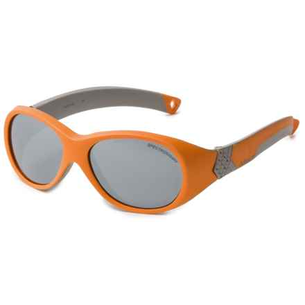 Julbo Bubble Sunglasses (For Kids and Youth) in Orange/Grey/Spectron4 - Closeouts