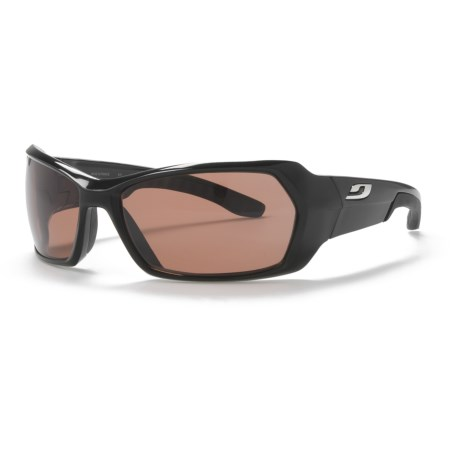 Julbo Dirt Sunglasses - Polarized Falcon Photochromic NXT® Lenses in Black/Falcon