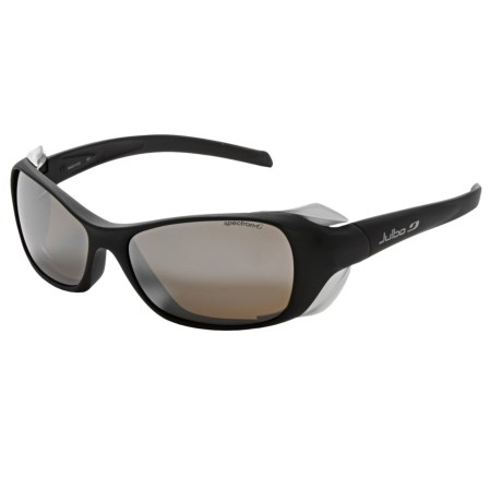 Julbo Dolgan Large Sunglasses - Spectron 4 Lenses in Soft Black/Spectron 4