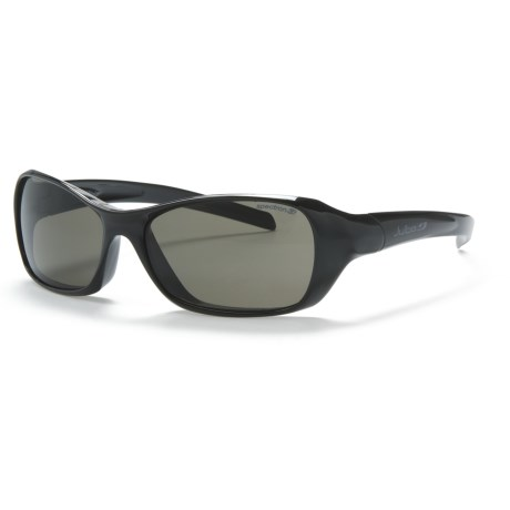 Julbo Dolphin Sunglasses - Spectron 3 Lenses in Shiny Black/ Spectron 3