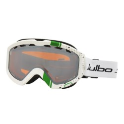 Julbo Down Snowsport Goggles in White/Green/Orange Spectron 3
