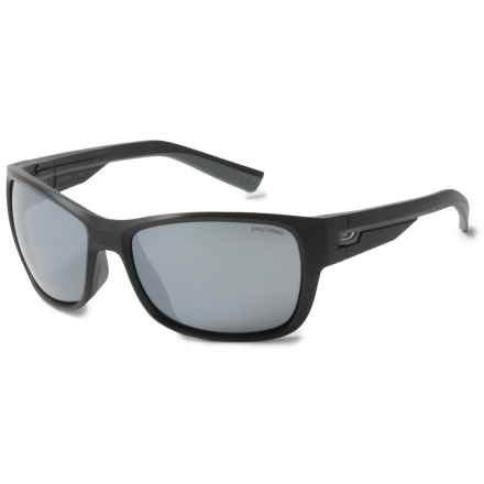 Julbo Drift Sunglasses - Spectron 3 Lenses in Matte Black/Silver Flash - Overstock