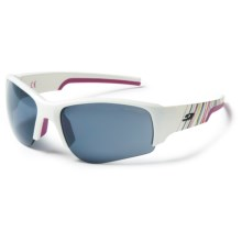 Julbo Dust Sunglasses - Mirrored Spectron 3 Lenses, Asian Fit in White Fushia/Spectron 3+ - Closeouts