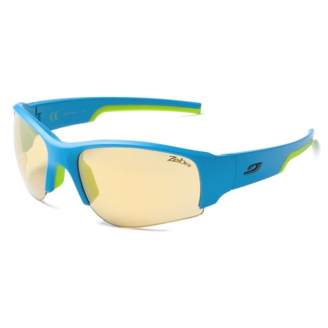 Julbo Dust Sunglasses - Photochromic Zebra® Lenses in Blue Green/Zebra