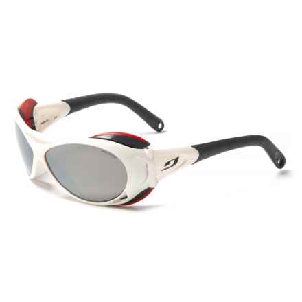 Julbo Explorer XL Glacier Sunglasses in Blanc Soft - Closeouts