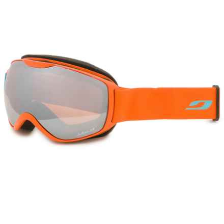 Julbo Ison Ski Goggles in Orange/Silver Flash/Cat 3 - Closeouts