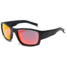 Julbo Kaiser Sunglasses - Spectron 3 Lenses in Black/Spectron 3Cf Red - Closeouts