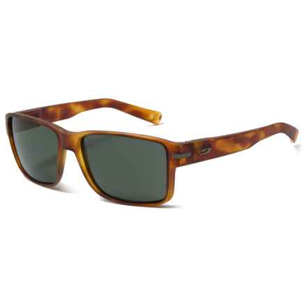 Julbo Kobe Sunglasses - Polarized in Matte Tortoise/Grey - Closeouts