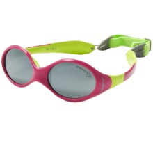 Julbo Looping 1 Sunglasses (For Infants) in Violet/Lime/Spectron 4 - Closeouts