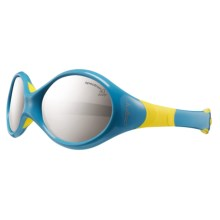 Julbo Looping 3 Sunglasses (For Toddlers) in Blue Yellow/Spectron 4 - Closeouts