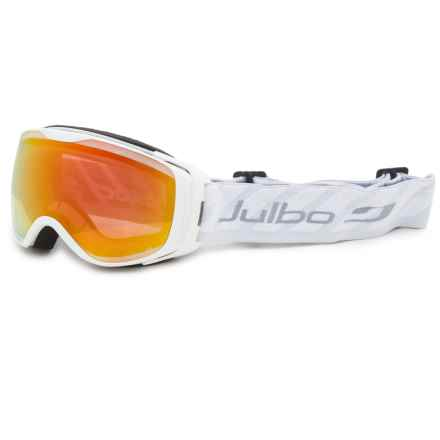 Julbo Luna Ski Goggles - Photochromic Lens (For Women) in White/Snowtiger - Closeouts