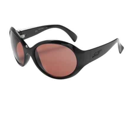 Julbo Marquises Sunglasses - Polarized, Falcon Photochromic Lenses (For Women) in Black/Falcon - Closeouts