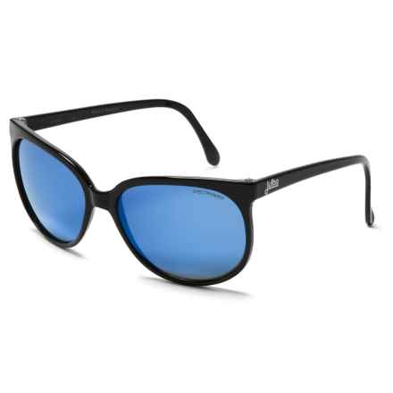 Julbo Megeve Sunglasses - Spectron 3CF Lenses in Gloss Black/Blue - Overstock