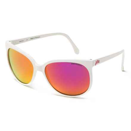 Julbo Megeve Sunglasses - Spectron 3CF Lenses in Shiny White - Overstock