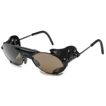 Julbo Micropore Glacier Sunglasses in Black/Black - Closeouts