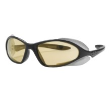 Julbo Nomad Sunglasses - Photochromic NXT Zebra® Lenses in Black/Zebra - Closeouts