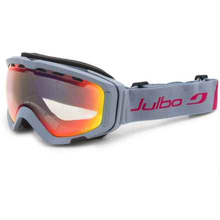 Julbo Orbiter II Ski Goggles - Photochromic in Gray/Zebra Light - Closeouts