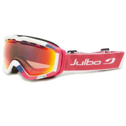 Julbo Orbiter II Ski Goggles - Photochromic in White/Snowtiger - Closeouts