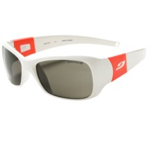 Julbo Piccolo Sunglasses (For Kids and Youth) in White/Coral/Spectron 3 - Closeouts