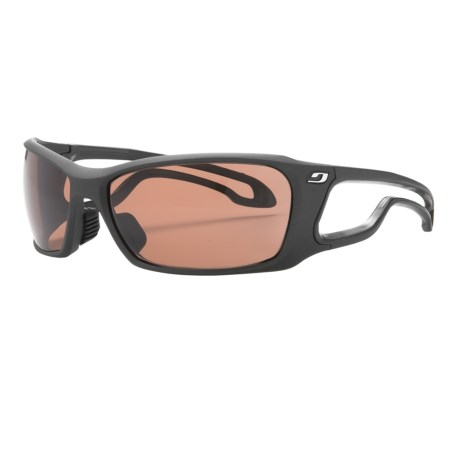 Julbo Pipeline L Sunglasses - Polarized, Falcon Photochromic Lenses in Black/Falcon