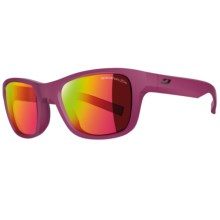 Julbo Reach Sunglasses (For Little and Big Kids) in Purple/Spectron 3 Cf Pink - Closeouts