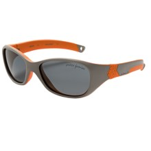 Julbo Solan Sunglasses - Polarized (For Kids and Youth) in Grey/Orange - Closeouts