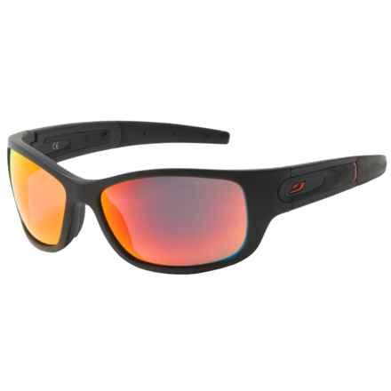Julbo Stony Sunglasses - Spectron 3 Lenses in Black/Red - Overstock
