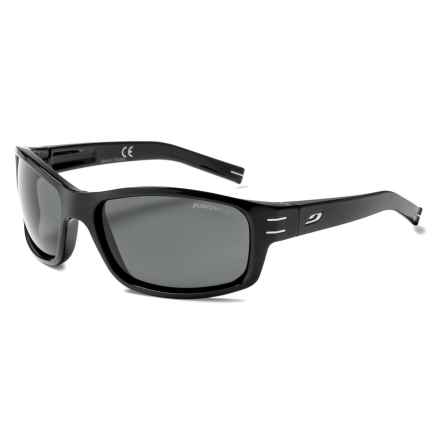 Julbo Suspect Sunglasses - Polarized in Black/Polarized Grey - Closeouts