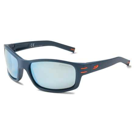 Julbo Suspect Sunglasses - Polarized in Grey-Blue/Polarized 3+ Blue - Closeouts