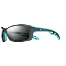 Julbo Swell Sunglasses - Polarized in Black Light Blue/Polar 3+ - Closeouts
