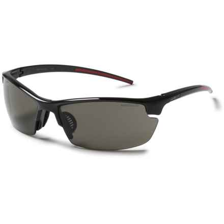 Julbo Tracks Sunglasses - Spectron 3 Lenses in Shiney Black/Spectron 3 - Closeouts