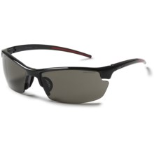 Julbo Tracks Sunglasses - Spectron 3 Lenses in Shiny Black/Spectron 3 - Closeouts