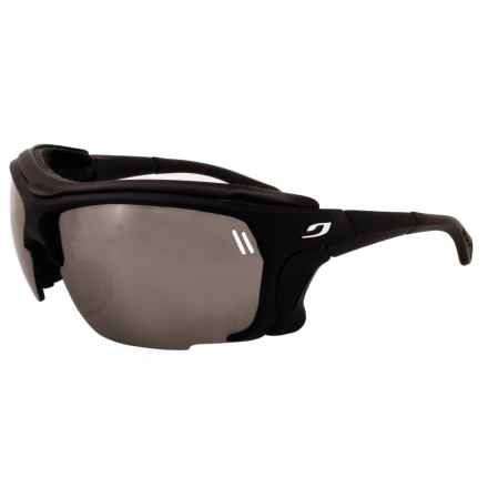 Julbo Trek Sunglasses - Spectron 4 Lenses in Black/Black - Overstock