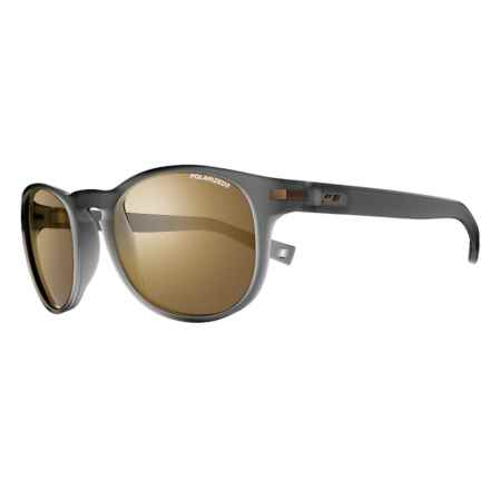Julbo Valparaiso Sunglasses - Polarized Cat 3 Lenses in Matte Translucent Black - Overstock