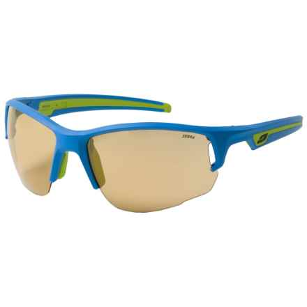 Julbo Venturi Sunglasses - Photochromic in Blue/Zebra Yellow - Overstock