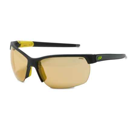 Julbo Zephyr Sunglasses - Photochromic in Black/Grey/Zebra Yellow - Overstock