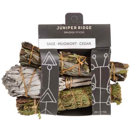 Juniper Ridge Variety Smudge Scent Pack in See Photo - Closeouts