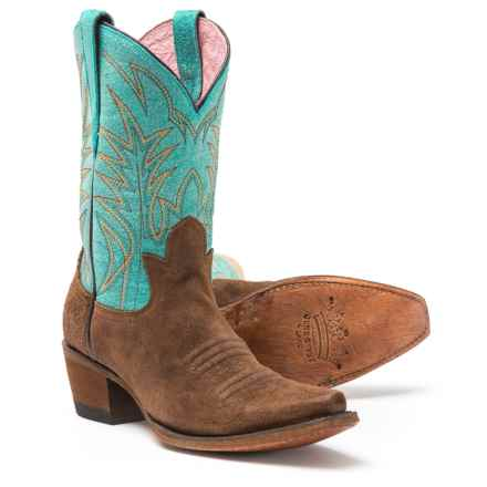 "Junk Gypsy By Lane Dirtroad Dreamer Cowboy Boots - 10"", Snip Toe (For Women) in Chocolate - Closeouts"