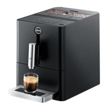 Jura ENA Micro 1 Espresso Coffee Machine - 1-Cup, Ultra-Compact in Black/Stainless - 2nds