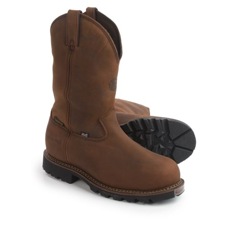 "Justin Boots 11"" Stag Gaucho Work Boots - Insulated, Composite Safety Toe, Leather (For Men)"
