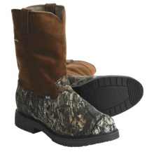Justin Boots 6608 Gore-Tex® Hunting Boots - Waterproof, Pull-Ons (For Men) in Mossy Oak Break-Up - Closeouts