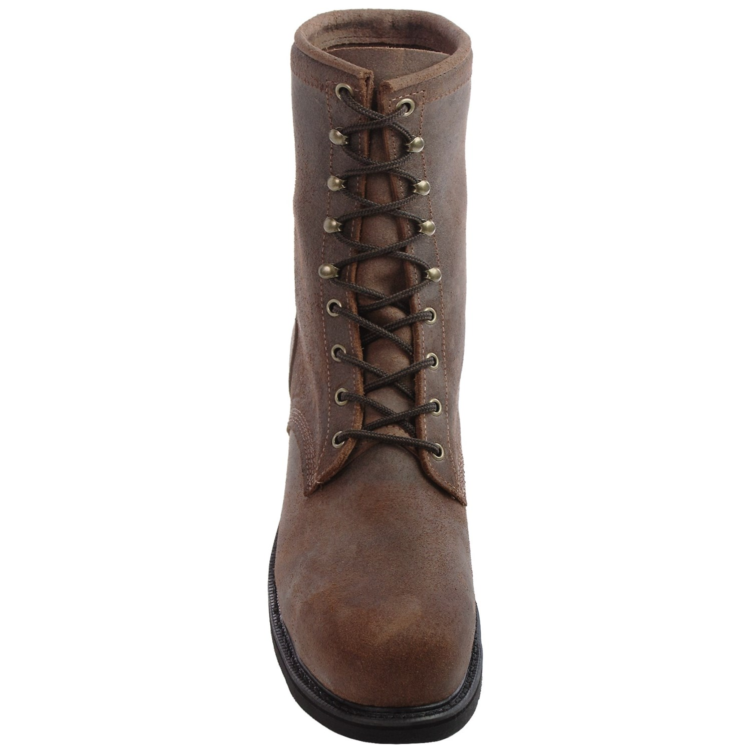 Justin leather work gloves - Justin Boots Dark Mountain Leather Work Boots Steel Toe For Men